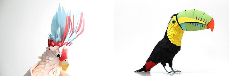 Bird-Paper-Sculptures-by-Diana-Beltran-Herrera-appleman-magazine-agencia-publicidad-sevilla-johnappleman-01