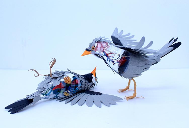 Bird-Paper-Sculptures-by-Diana-Beltran-Herrera-appleman-magazine-agencia-publicidad-sevilla-johnappleman-018