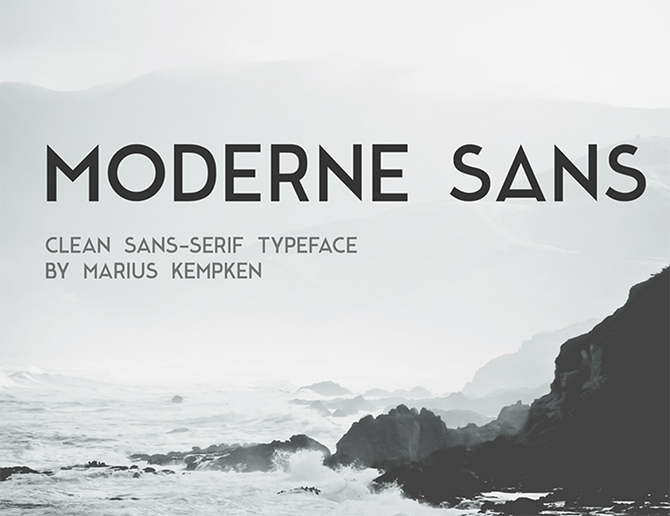 Moderne-Sans-fuente-johnappleman