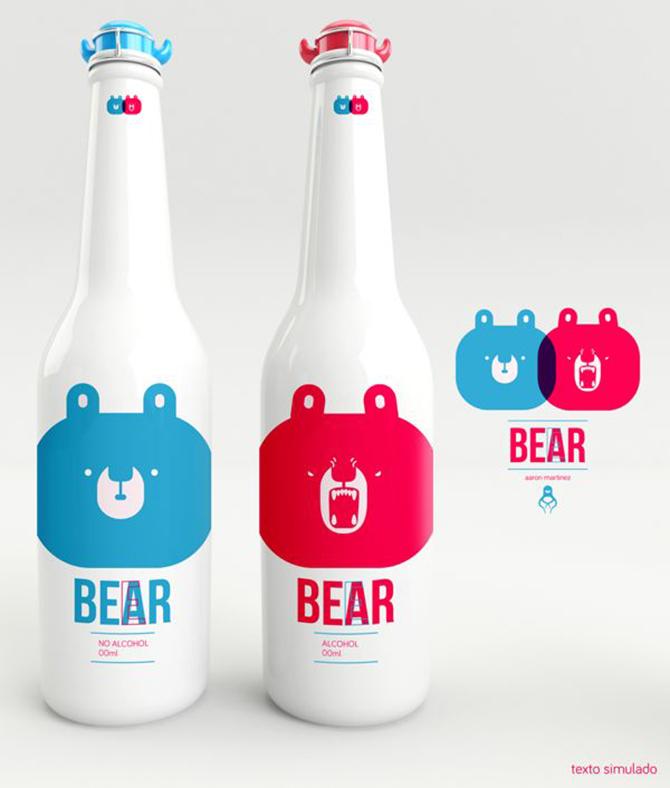 beer-bear-diseño-bebida-oso