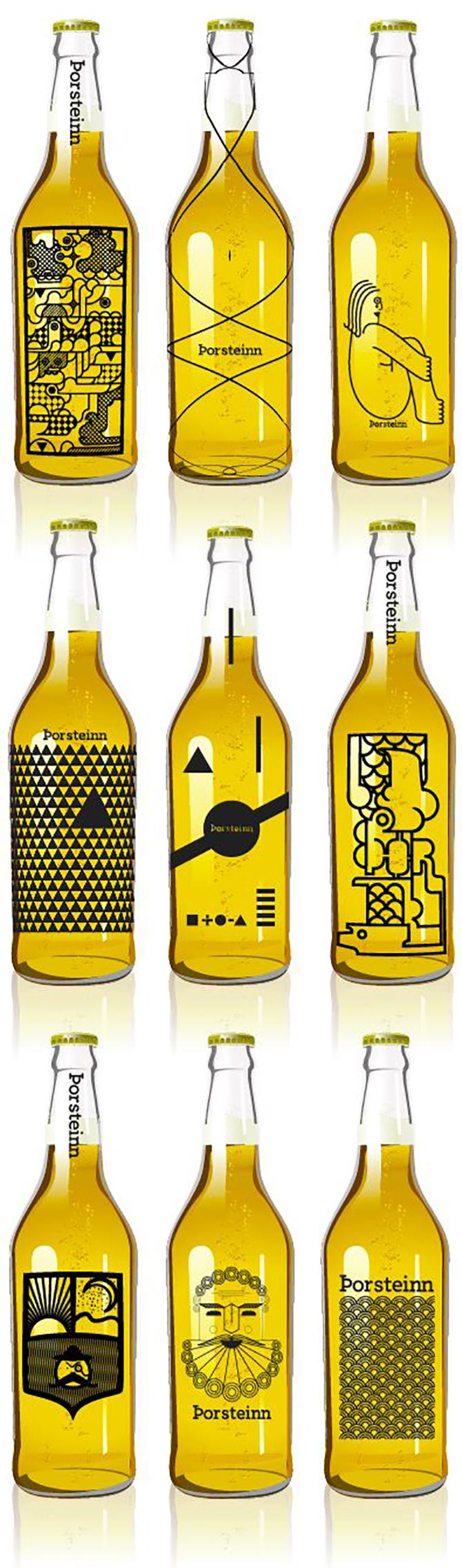 porsteinn-cervezas-diseño-johnappleman