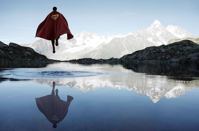 superman-volando-lago