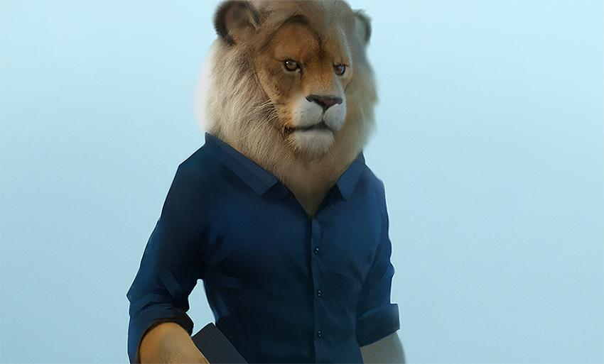 personaje animación Max Kostenko