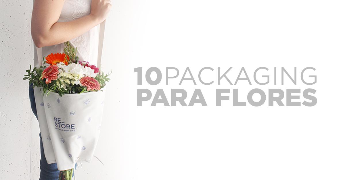 pakaging para flores