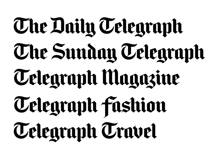 the-daily-telegraph-font