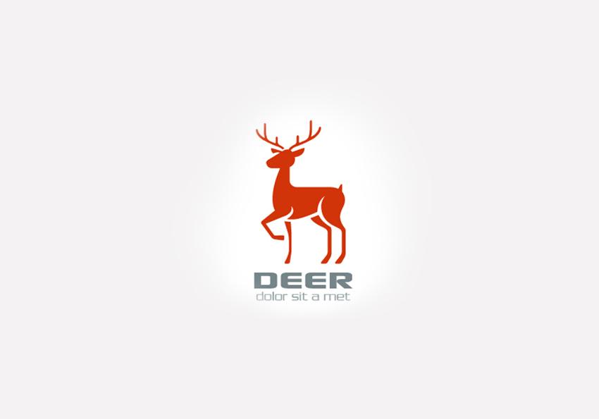 logotipos-de-animales-ciervo-deer
