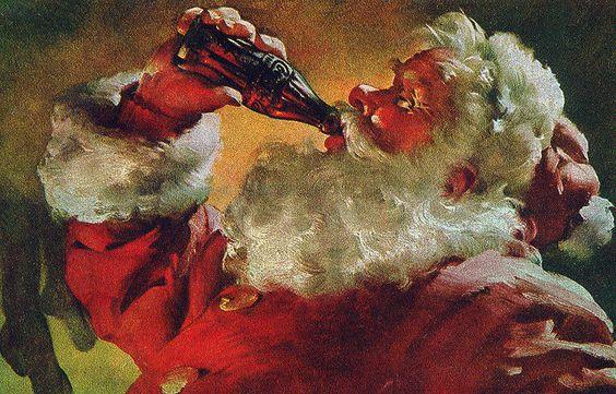 Diseño Coca Cola Santa Claus