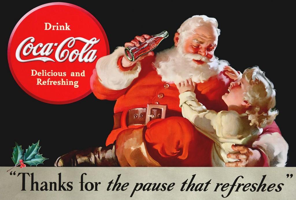 Papa Noel 1930 Coca-Cola