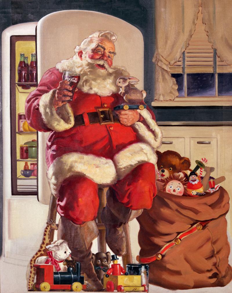 Papa Noel ilustracion