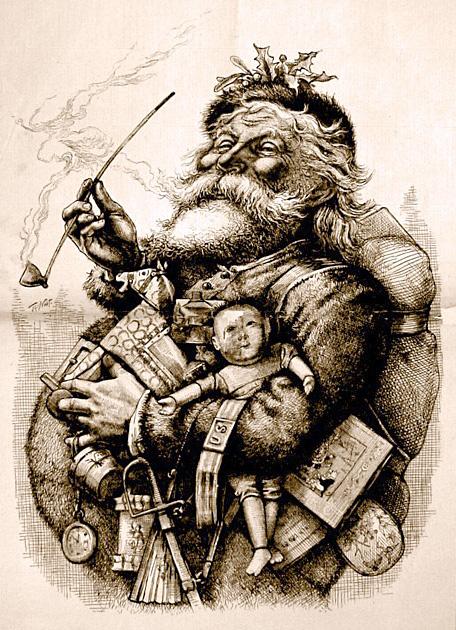 Primera ilustracion Papa Noel Coca-Cola