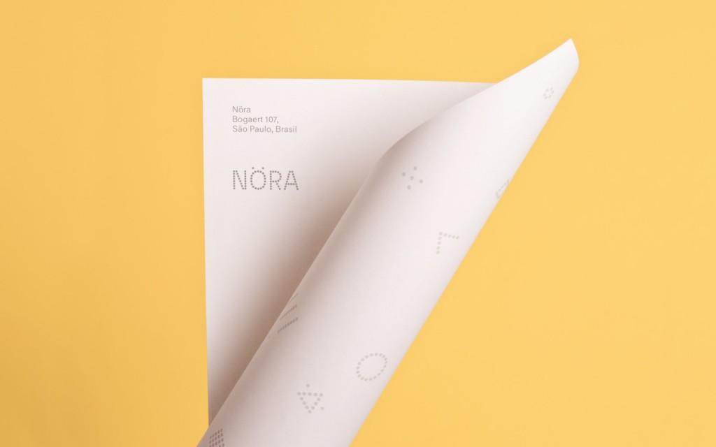 nora diseño identidad visual