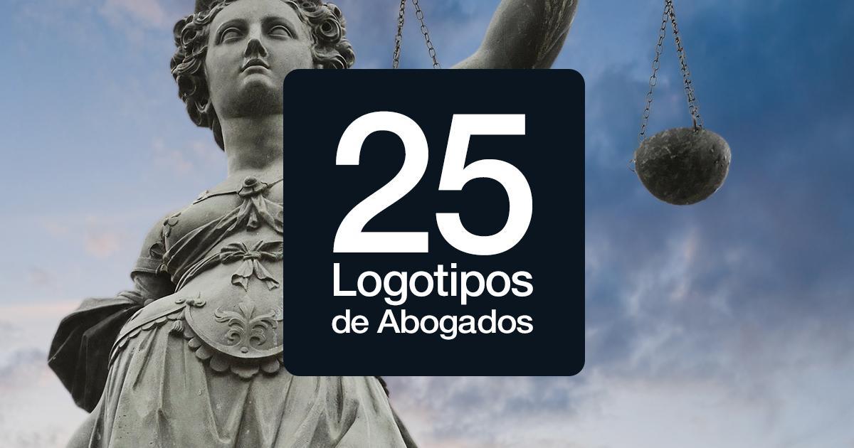25 logotipos de abogados