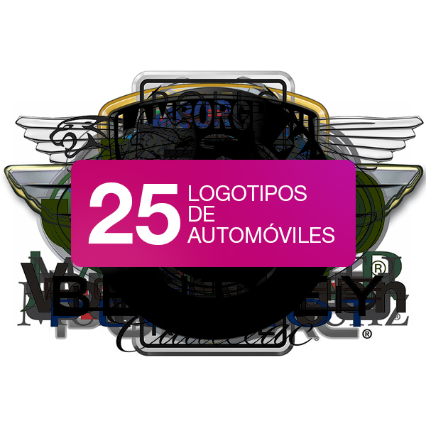 25 logotipos de coches