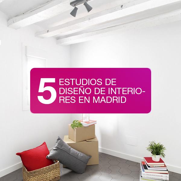 5 estudios de diseño de interiores