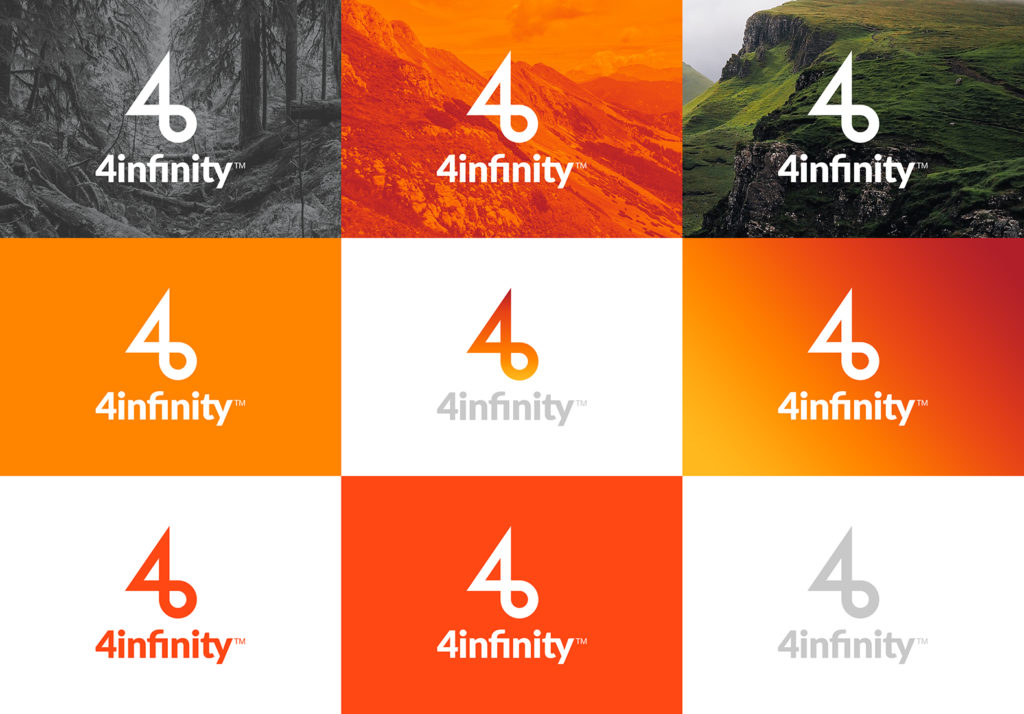 4infinity  Naming, Identidad Visual, Web.