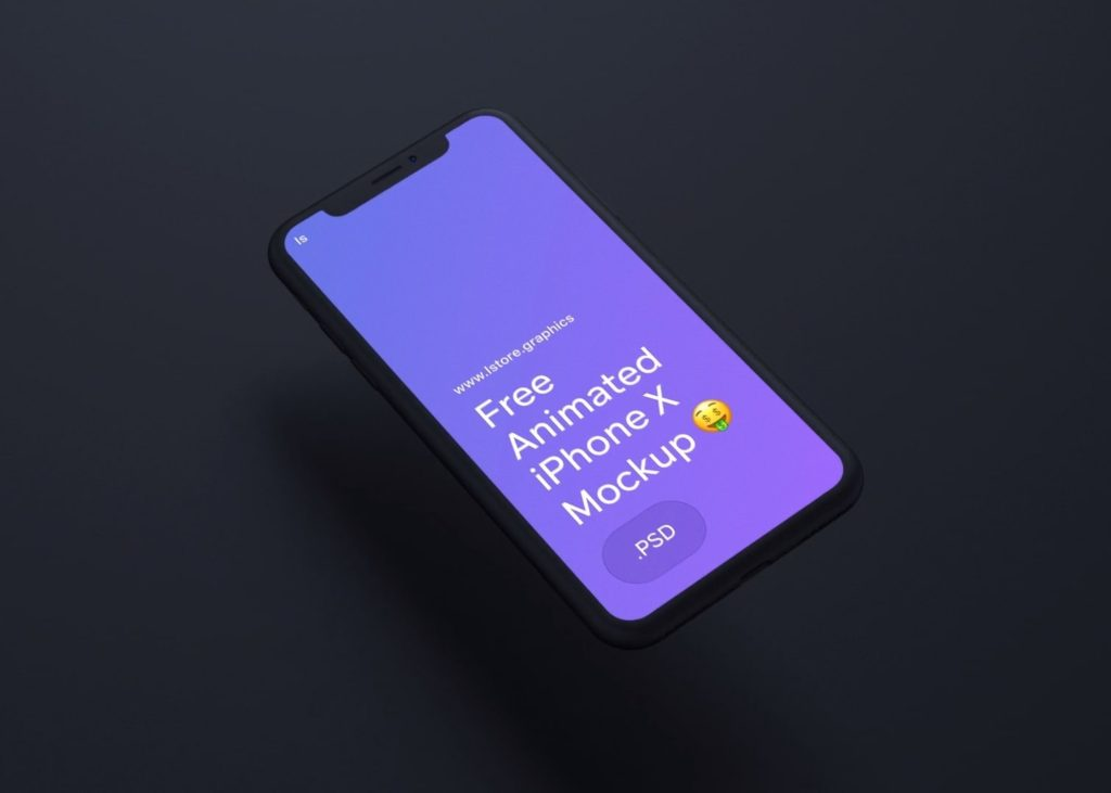 Animated iPhone X