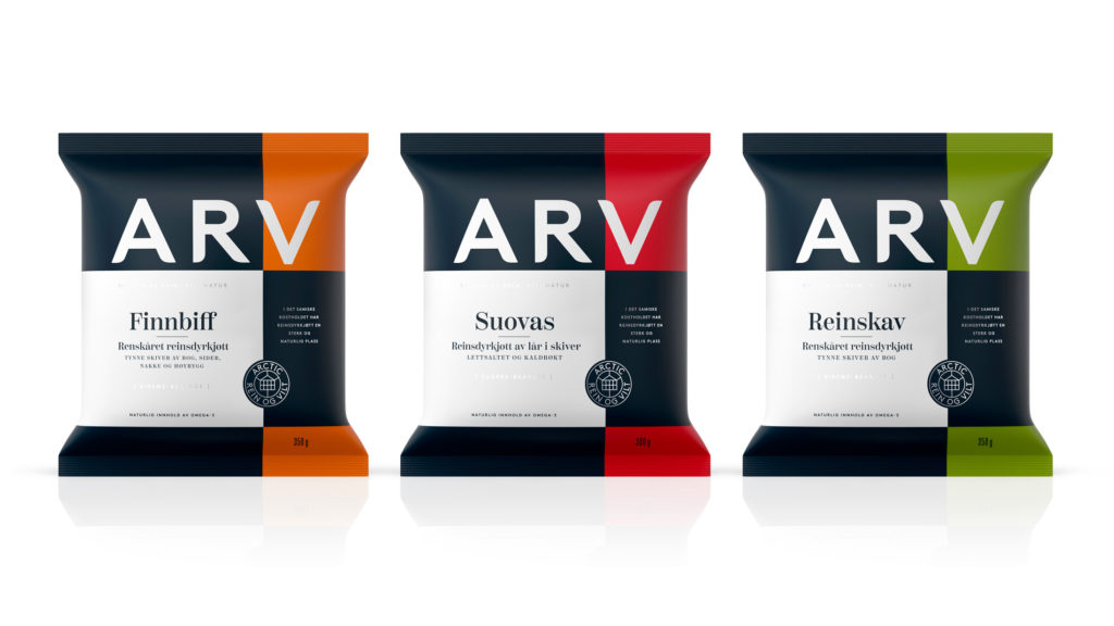 Branding, Packaging – ARV
