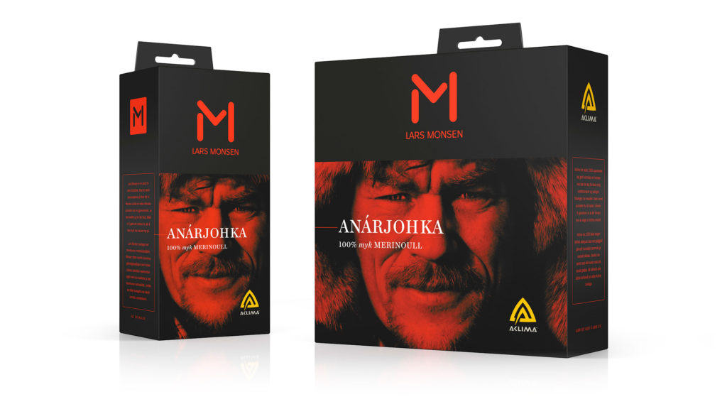 Brand Redesign, Packaging – Lars Monsen
