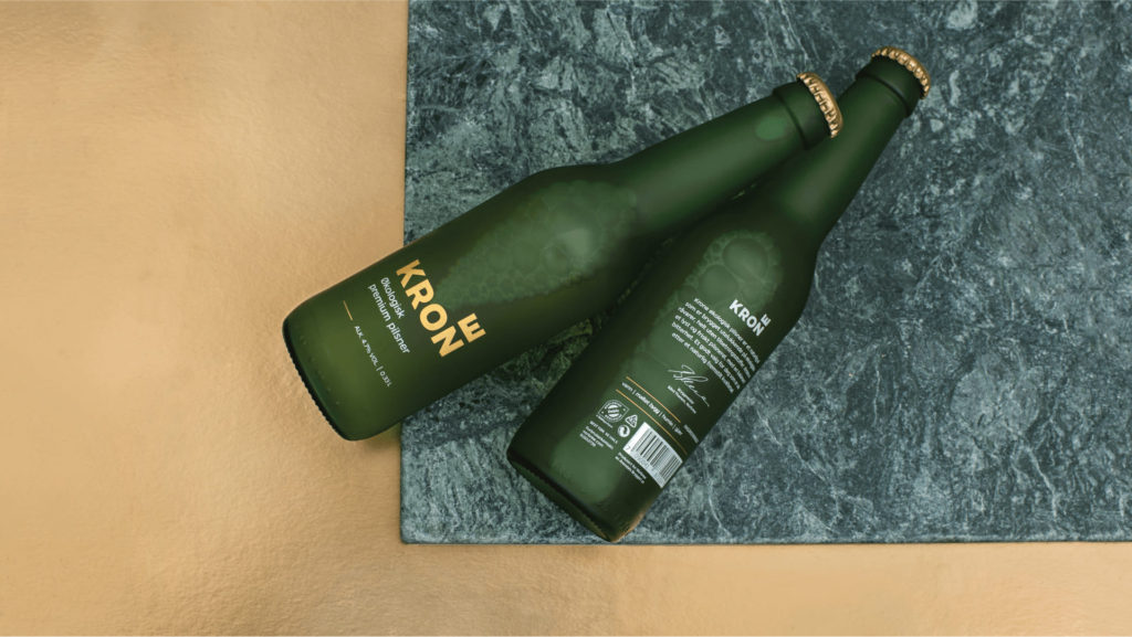 Branding, Packaging – Krone