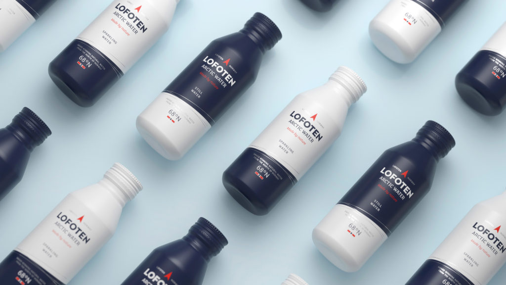Branding, Packaging – Lofoten Arctic Water