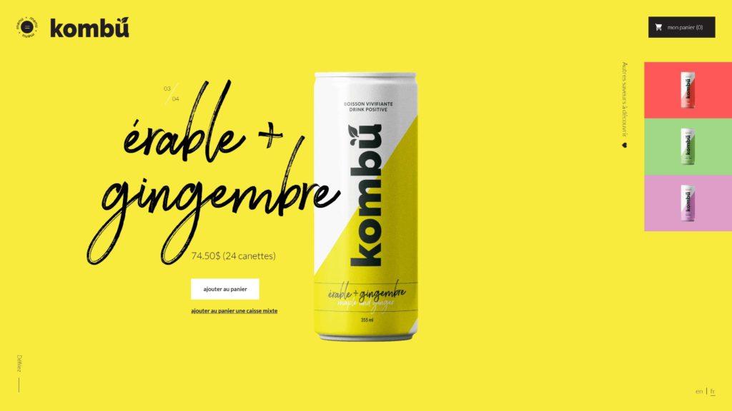Diseño Web – Kombu
