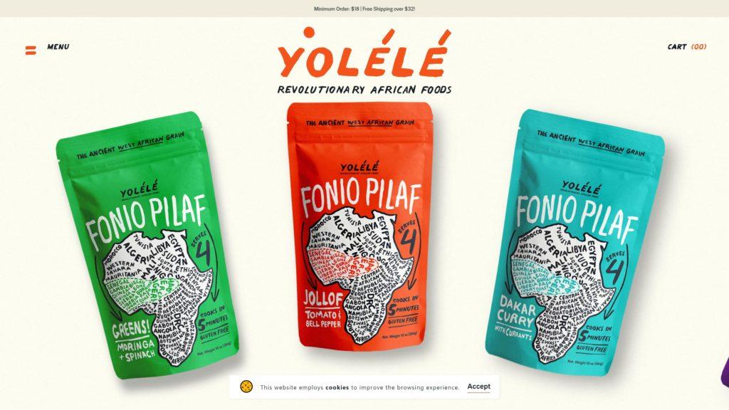 Diseño Web – Yolélé