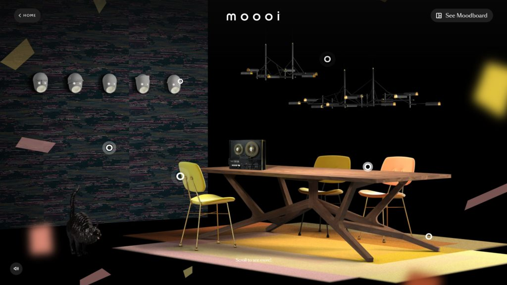 Diseño web – Moooi