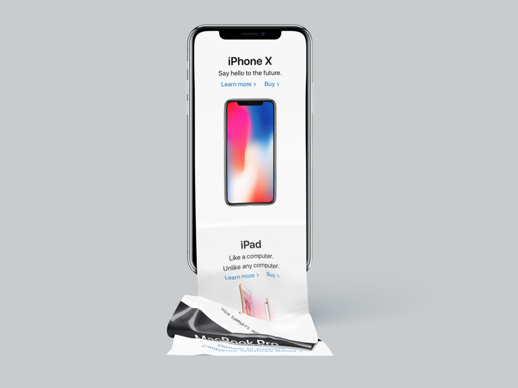 iPhone X Long Scroll