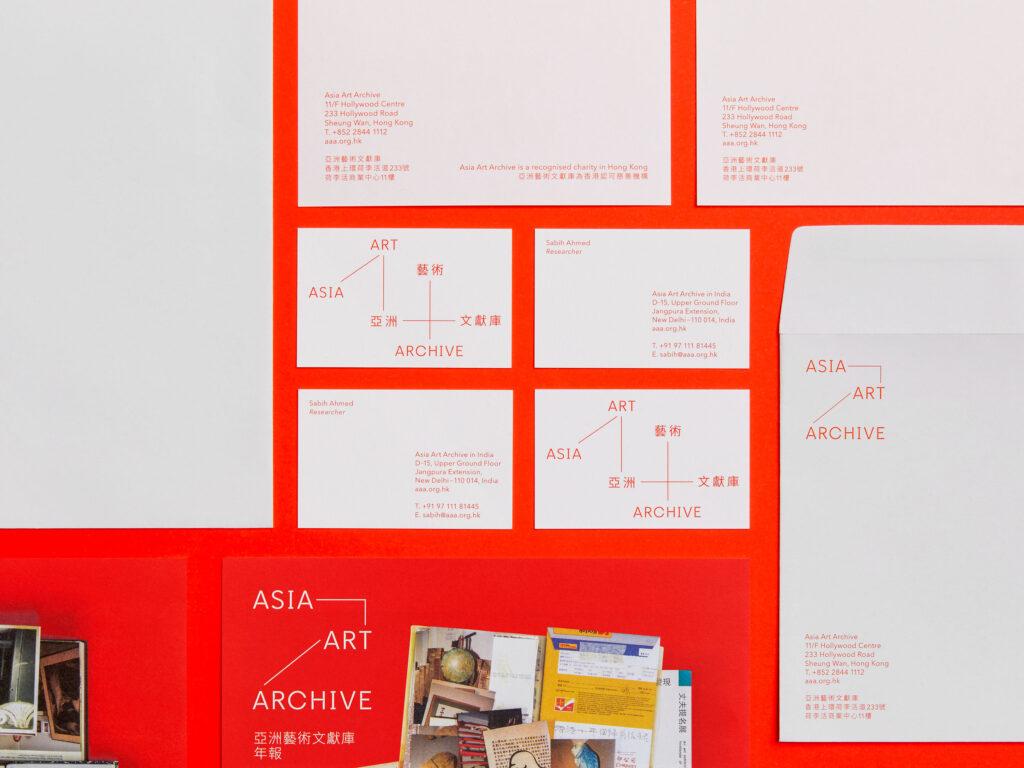 Visual Identity – Asia Art Archive