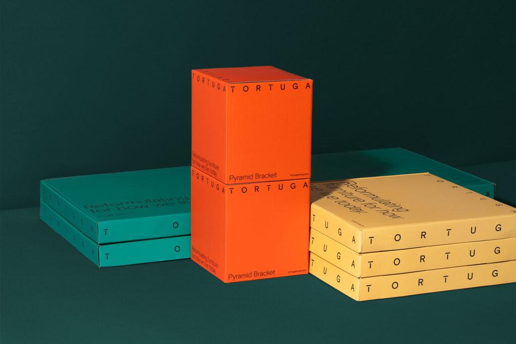 Identity y packaging – Tortuga