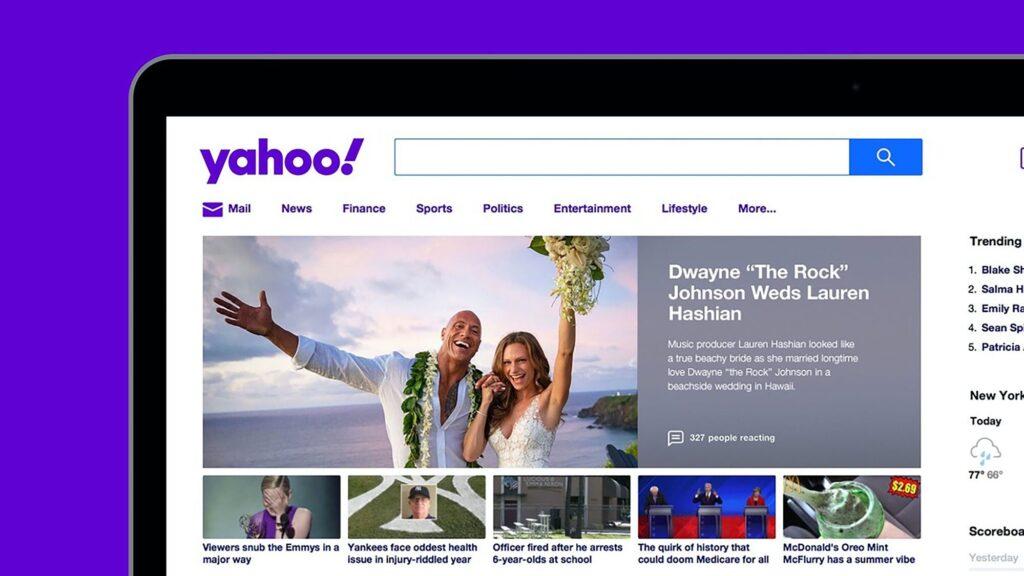 Branding – Yahoo