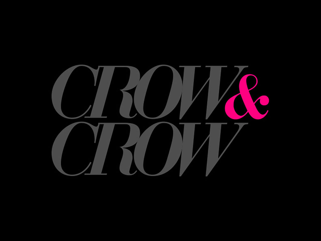 logotipo crow and crow